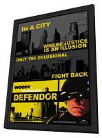 Defendor - 11 x 17 Movie Poster - Style B - in Deluxe Wood Frame