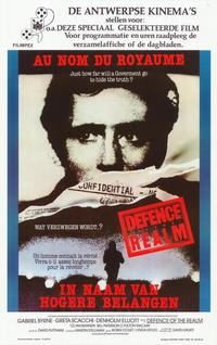 Defense of the Realm - 11 x 17 Movie Poster - Belgian Style A
