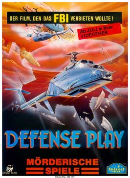 Defense Play - 11 x 17 Movie Poster - German Style A