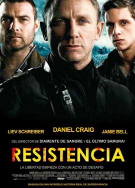 Defiance - 11 x 17 Movie Poster - Spanish Style A