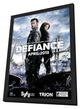 Defiance (TV) - 11 x 17 TV Poster - Style A - in Deluxe Wood Frame