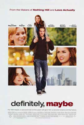 Definitely, Maybe - 27 x 40 Movie Poster - Style A