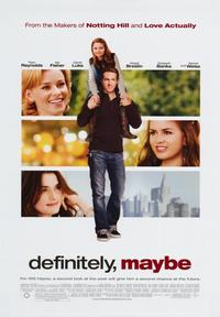 Definitely, Maybe - 43 x 62 Movie Poster - Bus Shelter Style A