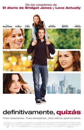 Definitely, Maybe - 11 x 17 Movie Poster - French Style A