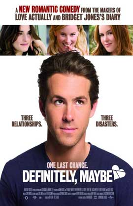 Definitely, Maybe - 11 x 17 Movie Poster - Swedish Style A