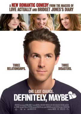 Definitely, Maybe - 27 x 40 Movie Poster - Style B