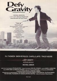 Defy Gravity - 11 x 17 Movie Poster - Style B