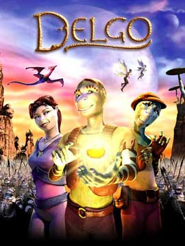 Delgo - 11 x 17 Movie Poster - Style A