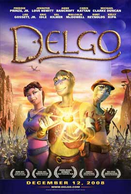 Delgo - 11 x 17 Movie Poster - Style B
