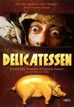 Delicatessen - 27 x 40 Movie Poster - Danish Style A
