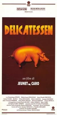 Delicatessen - 11 x 17 Movie Poster - Style A