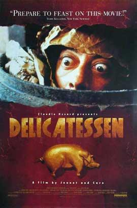 Delicatessen - 11 x 17 Movie Poster - Style D