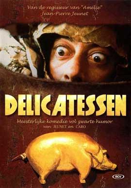 Delicatessen - 11 x 17 Movie Poster - Danish Style A