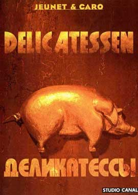 Delicatessen - 27 x 40 Movie Poster - Russian Style A