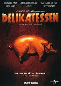 Delicatessen - 11 x 17 Movie Poster - Swedish Style A