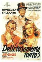 Deliciosamente tontos - 11 x 17 Movie Poster - Spanish Style A