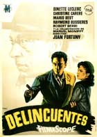 Delincuentes - 11 x 17 Movie Poster - Spanish Style A