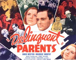 Delinquent Parents - 22 x 28 Movie Poster - Half Sheet Style A