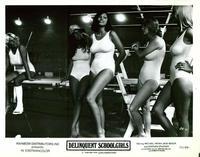 Delinquent Schoolgirls - 8 x 10 B&W Photo #1