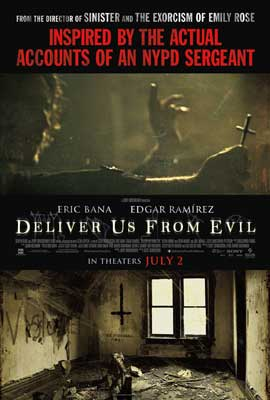 Deliver Us From Evil - 11 x 17 Movie Poster - Style B
