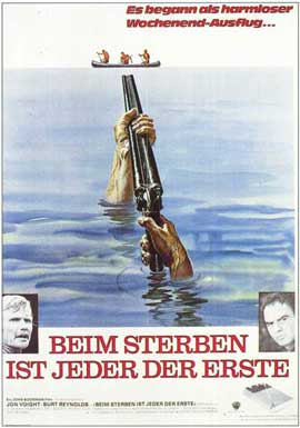 Deliverance - 11 x 17 Movie Poster - German Style A
