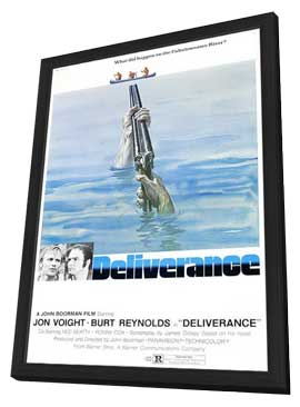 Deliverance - 11 x 17 Movie Poster - Style B - in Deluxe Wood Frame