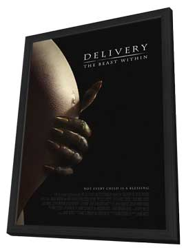 Delivery: The Beast Within - 27 x 40 Movie Poster - Style A - in Deluxe Wood Frame