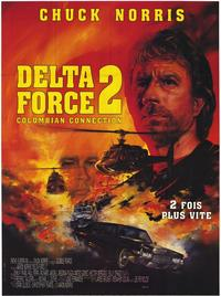 Delta Force 2: Operation Stranglehold - 11 x 17 Movie Poster - French Style A