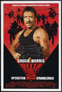 Delta Force 2: Operation Stranglehold - 27 x 40 Movie Poster - Style B