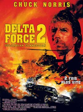 Delta Force 2: The Colombian Connection - 11 x 17 Movie Poster - French Style A