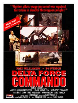 Delta Force Commando - 11 x 17 Movie Poster - Style A