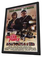 Delta Force - 11 x 17 Movie Poster - Style A - in Deluxe Wood Frame