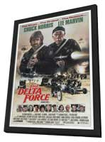 Delta Force - 27 x 40 Movie Poster - Style A - in Deluxe Wood Frame