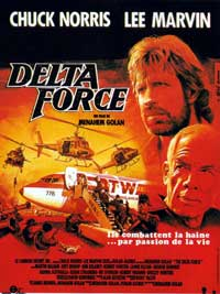 Delta Force - 11 x 17 Movie Poster - French Style A