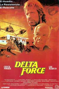 Delta Force - 11 x 17 Movie Poster - Spanish Style B