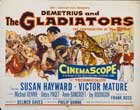 Demetrius and the Gladiators - 22 x 28 Movie Poster - Half Sheet Style A