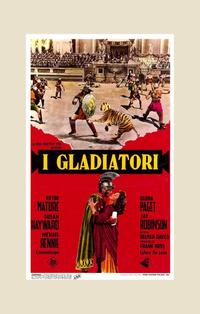 Demetrius and the Gladiators - 11 x 17 Movie Poster - Italian Style A