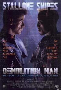 Demolition Man - 43 x 62 Movie Poster - Bus Shelter Style A