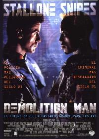Demolition Man - 27 x 40 Movie Poster - Spanish Style A