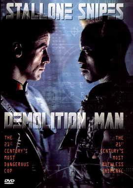 Demolition Man - 27 x 40 Movie Poster - Style B