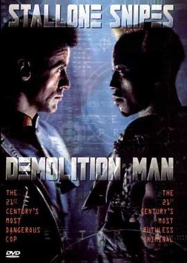 Demolition Man - 11 x 17 Movie Poster - Style B