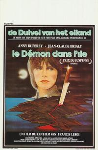 Demon Is On the Island - 11 x 17 Movie Poster - Belgian Style A