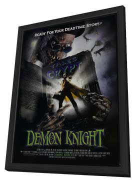 Demon Knight - 11 x 17 Movie Poster - Style D - in Deluxe Wood Frame