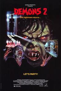 Demons 2: The Nightmare Returns - 11 x 17 Movie Poster - Style A