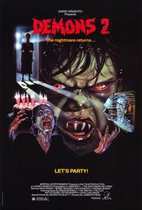 Demons 2: The Nightmare Returns - 27 x 40 Movie Poster - Style A