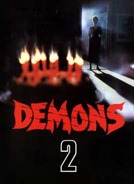Demons 2: The Nightmare Returns - 11 x 17 Movie Poster - Style B