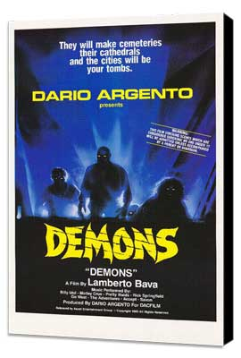 Demons - 27 x 40 Movie Poster - Style A - Museum Wrapped Canvas