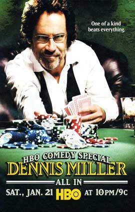 Dennis Miller - 11 x 17 TV Poster - Style A