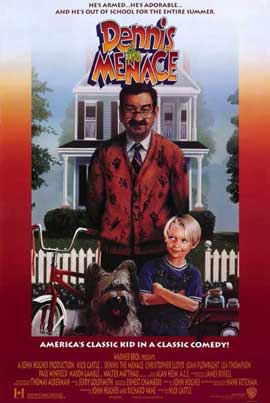 Dennis the Menace - 27 x 40 Movie Poster - Style A