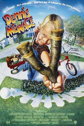 Dennis the Menace - 27 x 40 Movie Poster - Style B